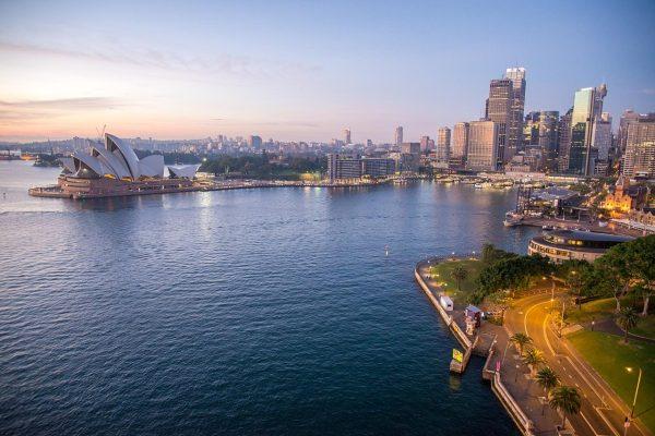 悉尼歌剧院、日出、悉尼