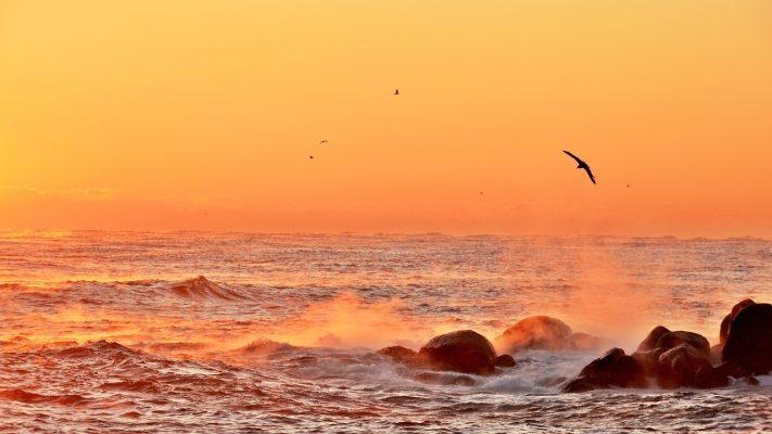 日出、黎明、天堂