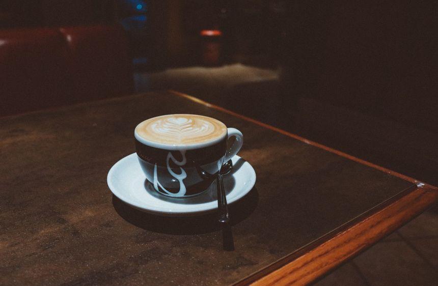 咖啡、杯、喝