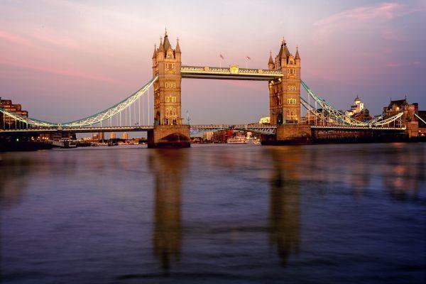 桥、伦敦、塔桥