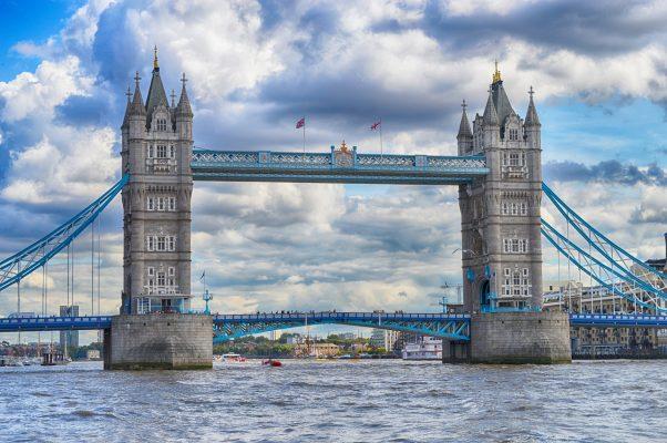 伦敦塔桥、伦敦、泰晤士河
