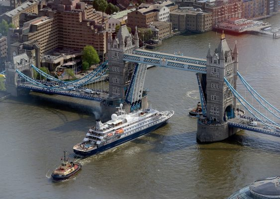 塔桥、泰晤士、河