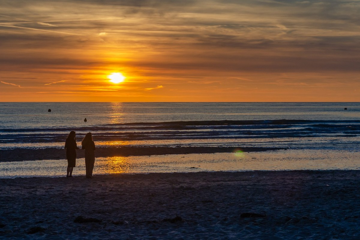 太阳层、海滩、海洋