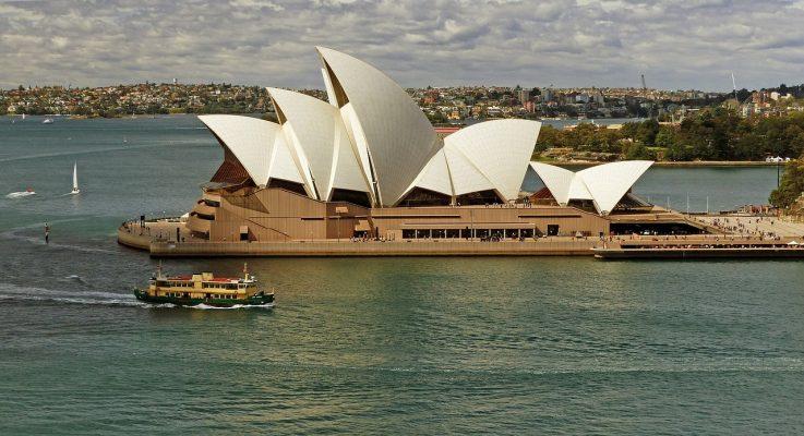 歌剧院、悉尼、海港