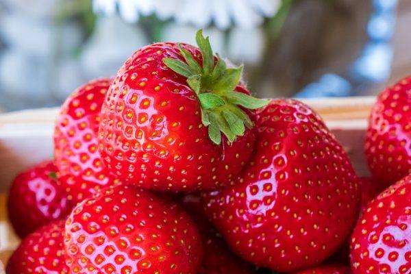 草莓、新鲜、水果