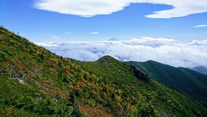 富士、云海、山