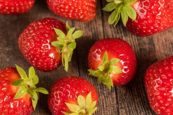 草莓、红色水果、水果