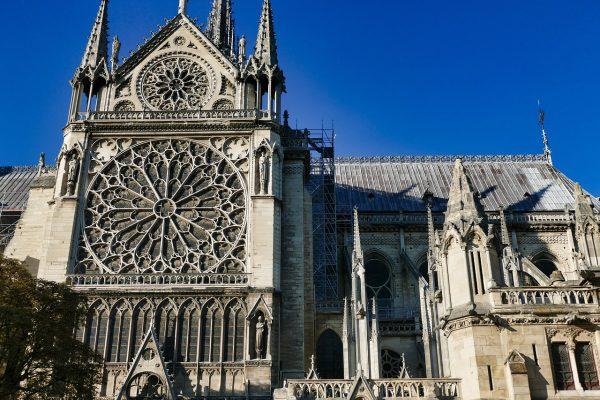 巴黎圣母院、架构、教会