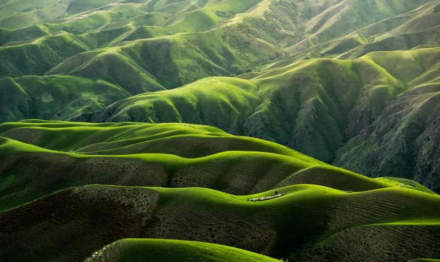 山地地貌图片