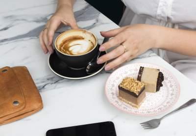 咖啡与甜点图片