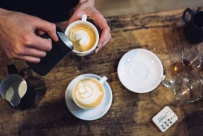 咖啡拉花图片 6000×4000